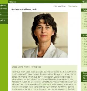 """Ministerin Barbara Steffens finanziert mit dem """"Runden Tisch NRW"""" mit Steuergeldern eine Institution, die Genitalverstümmelungen konsequent verharmlost"""